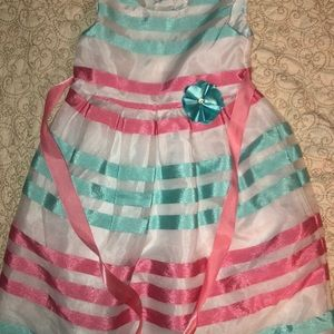 Joe Ella girls 6 formal lined dress euc fancy